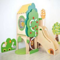Childrens Sensory Tree Playhouse Den
